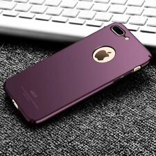 Case For iPhone 7 6 6s Plus SE 5s 5 Slim Hard Silicone PC Back Cover