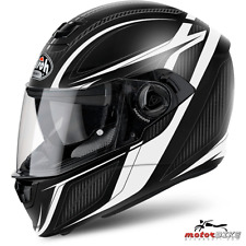 CASCO HELMET AIROH FULL FACE STORM SHARPEN WHITE MATT