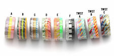 MT Slim Washi Masking Tape - Skinny 3 Pack 6mm x 10m