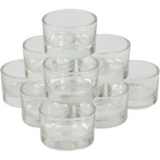 Yankee Candle Clear Glass Tea Light Holder Wedding / Christmas Decoration Gift