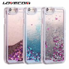Glitter Case For iPhone 6 6S 7 8 Plus 4S 5 5S SE 5C Hard Back Cover Shell