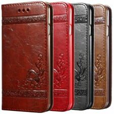 Luxury Flip Leather Case For iPhone 6 6s 7 5 5S Wallet Cover