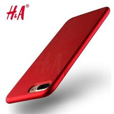 Luxury Soft Cover for iPhone 7 6 6S Plus Case Red Plating Soft Case