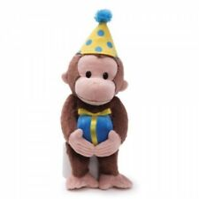 BRAND NEW Gund Curious George Birthday Stuffed Animal  Curious George #4030390