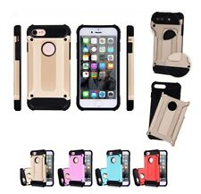 Armor Shockproof Hybrid Rugged Bumper Case For Apple iPhone 10 X 8 7 Plus 6S 5S