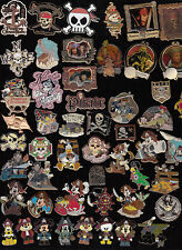 21 DISNEY PIN PINES Disney Disney Land elegir: Piratas of the Caribe Pirata