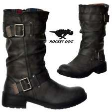 donna Rocket Dog TRUMBLE Biker Militare Stivali GALAXY NERO MARRONE uk4-uk8