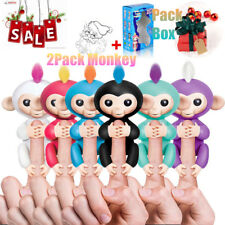 Xmas Gift 2packs Smart Baby Monkey Kids Electronic Interactive Finger Pet Toys