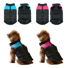 Dog Coat Puppy Pet Warm Insulated Padded Thick Winter Puffer Jacket Clothes UK