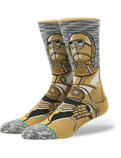 Stance Star Wars Android Crew Socks in Grey