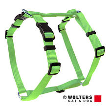 WOLTERS Pettorina cani BASIC VERDE LIME, varie misure, NUOVO
