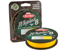 NUEVO 2018! Berkley Whiplash 8 Yellow / 150m / 0,06-0,10mm / linea trenzados