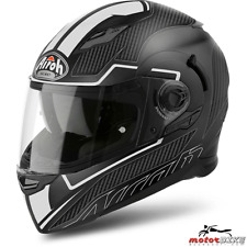 CASCO HELMET AIROH FULL FACE MOVEMENT S FASTER WHITE MATT