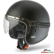 CASCO HELMET AIROH URBAN JET GARAGE COLOR BLACK MATT
