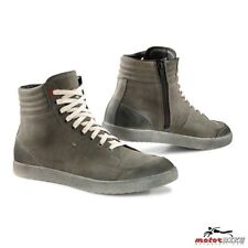 TCX LIFESTYLE SCARPA MOTO IMPERMEABILE SHOES X-GROOVE WATERPROOF URBAN GREY