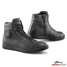 TCX LIFESTYLE SCARPA MOTO IMPERMEABILE SHOES X-GROOVE WATERPROOF BLACK