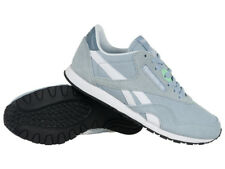 Reebok Classic Nylon Slim HV Womens Leather Sneakers Low Shoes Casual Trainers