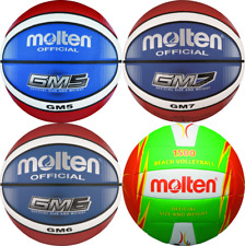 6x Molten Basketball BGMX7-C BGMX6-C BGMX5-C Trainingsball indoor outdoor