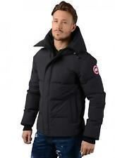 Canada Goose Jacket - Mens Macmillan Parka Jacket in Navy
