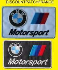 BMW MOTORSPORT. Patch écusson thermocollant aufnäher embroided patches.