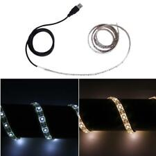DC 5V 3528 SMD LED tira flexible impermeable de la cinta de tiras de luz LED USB