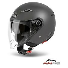 CASCO HELMET AIROH URBAN JET CITY ONE COLOR ANTHRACITE MATT