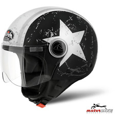 CASCO HELMET AIROH URBAN JET COMPACT PRO SHIELD BLACK MATT