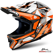 CASCO BAMBINO HELMET KID AIROH JUNIOR ARCHER CHIEF ORANGE GLOSS