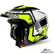 CASCO HELMET AIROH URBAN JET TRR S WINTAGE YELLOW GLOSS