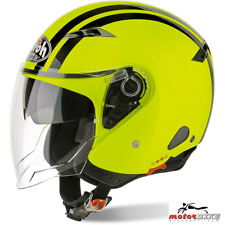 CASCO HELMET AIROH URBAN JET CITY ONE FLASH YELLOW GLOSS