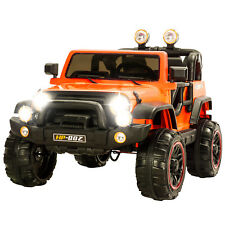 12V Kids Ride on Cars Electric Battery Power Wheels Remote Control 2 Speed