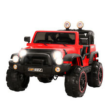 Red 12V Kids Ride on Cars Electric Battery Power Wheels Remote Control 2 Speed