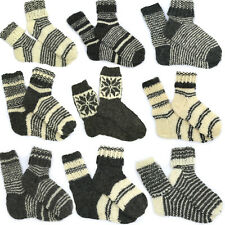 315cae6cb8a Handmade Knitted 100% Pure Sheep Wool Thick Socks for Walking Boots    Wellies