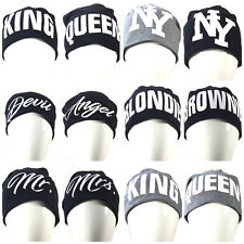 NUEVO PARTNER Gorro Largo King, REINA, devil, Angel, NY, jersey unisex gorra