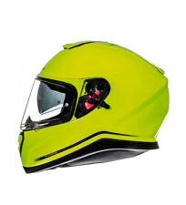 MT Helmets - Casco integral MT Thunder 3 SV Solid amarillo