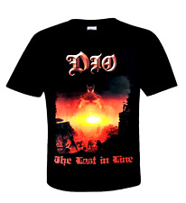 Ronnie James DIO official T-Shirt THE LAST IN LINE - U.S. Metal best rock singer