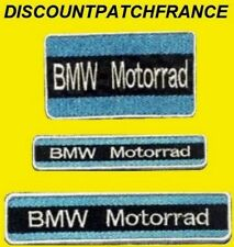 BMW MOTORRAD bleu. Patch écusson thermocollant brodé aufnäher toppa embroided.