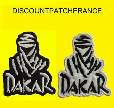 TOUAREG PARIS DAKAR. 7X8,5 cm. Patch écusson thermocollant aufnäher embroidered.