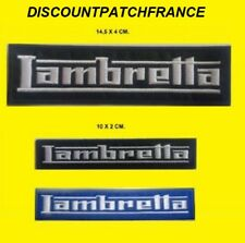 LAMBRETTA PIAGGIO. Patch écusson thermocollant aufnäher embroidered patches.