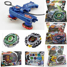 Fusion Top Metal Masters Rapidity Fight Rare Beyblade 4D Launcher Set Child Toys