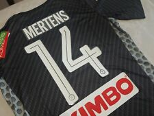 Maglia SSc NAPOLI Kappa 2018 Karbon kombatExtra Serie A Away Mertens 14 maillot