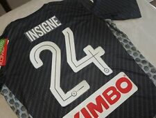 Maglia SSc NAPOLI Kappa 2018 Karbon kombatExtra Serie A Away Insigne 24 maillot