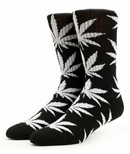 HUF Plantlife Crew Socks - Black White