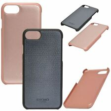 Genuine Knomo Geometric Embossed / Leather Case Cover For iPhone Models