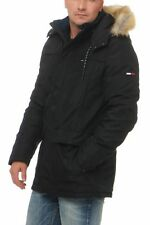 Tommy Hilfiger Denim Tech Parka 27 Jacke Jacket Winterjacke Schwarz