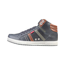 Mens Sneakers Trainers Casual Shoes Levis - 224180_1794 Navy High Top Lace Up