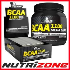 OLIMP BCAA 1100 Mega Caps Amino Acid Leucine Vit B6 Pre Workout Energy 15-300cap