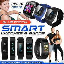New Model Bluetooth Smart Watch Phone Wrist Watch Fitness for Android and iOS UK