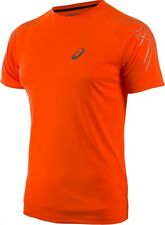 New ASICS MEN'S STRIPE Short sleeve TOP XL/running tshirt/MOTIONDRY/reflective