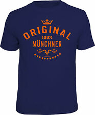 Camiseta Divertida Original 100% Munich Regalo De Cumpleaños Estampado